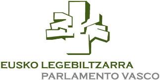 Legebiltzarraren Osaketa/Composición del Parlamento Vasco. Logo01b